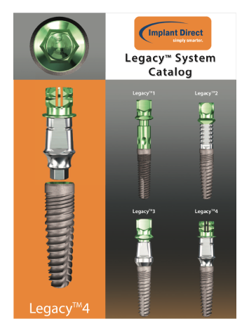 Implant Direct Sybron catalog